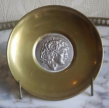 BRONZE AND SILVER PLATE 925 Ilias Lalaounis GREECE SIGNED H43 925