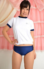Ladies/Girls Size 16 PE briefs school gym knickers netball panties  lycra Navy