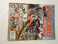 FEBRUARY 2008 MOTOCROSS ACTION MAGAZINE,08 HUSKY,125,250,450,510,HUSABERG,BMW 45