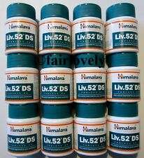 12 Jars x 60 Tablets Himalaya Liv.52 Liver 52 DS DOUBLE STRENGTH **UK SELLER**