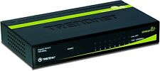 TRENDnet TEG-S80G 8 Port Gigabit GreenNet Metal Housing Unmanaged Switch