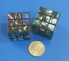 Star Wars Miniature Rubik's Style Cube - 1 1/8 Inch - Set of 2 - Puzzle Cubes
