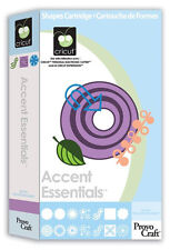 NEW! Cricut Accent Essentials cartridge!!  Retired/ Rare/ HTF.   Free shipping!!