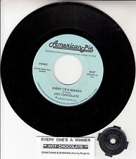 """HOT CHOCOLATE Every 1's A Winner & KENNY ROGERS Something's Burning 7"""" 45 NEW"""