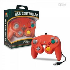 PC/ Mac Premium GameCube-Style USB Controller (Crimson Red) - CirKa