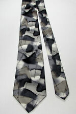 J. Garcia BLUE ICEBERG Collection Fifty-Four 54 100% Silk Abstract Tie