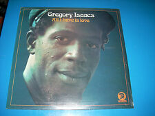 GREGORY ISAACS All I Have is Love LP Reggae SEALED MINT 1976 Trojan 121 Stereo
