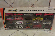 Rare 2002 Matchbox 20 Car Gift Pack New in Pkg. Firetrucks, Police, Dump Truck