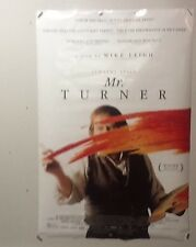 Original Movie Poster For Mr Turner Double Sided 27x40