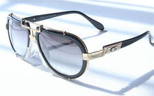 NEW CAZAL MOD642 SUNGLASSES VINTAGE 642 BLACK GOLD FRAME GRAY LENS GRADIENT