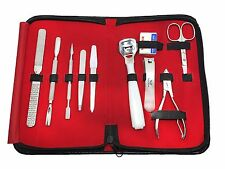 Professional10 in 1 Top Quality Manicure, Pedicure Set Stainless Steel With Case