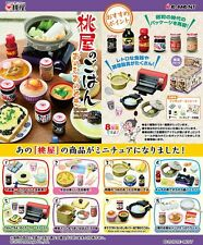 10/2016 Re-Ment Miniature Momoya the Japanese nostalgic meals Full Set of 8 pcs
