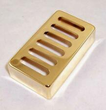 METAL NEO TRADITIONAL TOASTER HUMBUCKER BRIDGE PICKUP COVER / GOLD