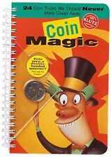 Coin Magic by Klutz Press Staff (1997, Mixed Media / Book, Other)