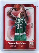 "2012-13 ELITE #58 BRANDON BASS ""RED STATUS"" SP #4/30 - BOSTON CELTICS"