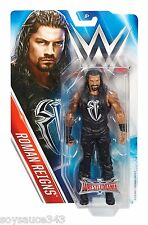WWE WRESTLEMANIA 32 ROMAN REIGNS BASIC ACTION FIGURE WRESTLING BENT CARD