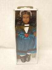 "American Girl CECILE MINI DOLL W/ CLEAR COVER + BOOK 6"" Historical NEW Retired"
