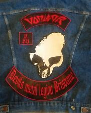 Vomitor 4 Piece Backpatch Sodom Destroyer 666 Sarcofago Sadistik Exekution Venom