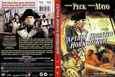 Captain Horatio Hornblower ~ New DVD 2007 ~ Gregory Peck, Virginia Mayo (1950)