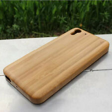 Luxury Natural Real Bamboo Wood Case Cover Hard Wooden Skin For HTC Desire Eye