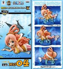 FIGURE ONE PIECE PRINCIPESSA SHIRAHOSHI MG04 MEGA WCF VOL.4 SIRENA BANPRESTO #1