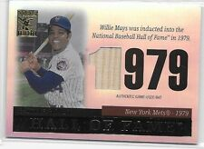 2014 14 TOPPS TRIBUTE HALL OF FAME WILLIE MAYS GAME USED BAT