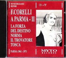 Franco Corelli- A Parma II No 2 - Unreleased 1961-71 Myto CD (Forza/Norma/Tosca)