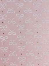 Bitty Bows Confection Light Pink Michael Miller Fabric FQ + More 100% Cotton