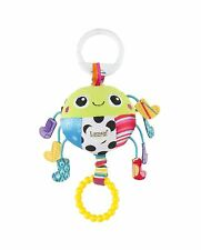 Lamaze SPIDER IN SOCKS Hangs on Buggy, Cot, Car Seat, Babies, 0+ Textured Toy