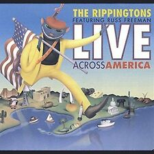 Live! Across America by The Rippingtons (CD, Mar-2002, Peak Records)