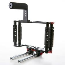 Kamerar Tank TK-3 cage w/rod support Top Handle Grip DSLR Video Stabilizer Rig