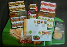 MALAYSIA HONG KONG JOINT ISSUE LOCAL FOOD 2014 (LIMITED FOLDER SET)