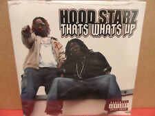 Hood Starz - Thats Whats Up CD Single BRAND NEW Rap