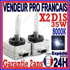 2 AMPOULES XENON D1S 35W KIT HID 12V LAMPE A DECHARGE D ORIGINE FEU PHARE 8000K