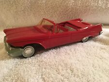 1960 Vintage Chrysler Imperial Convertible Promotional Promo Model Car