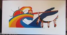 JACKSON BEARDY 1944 - 1984 Woodlands artist signed & numbered PEACE AND HARMONY