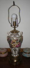 Fabulous large vintage oriental style parlor table lamp...one of a kind