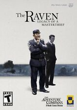 The Raven Legacy of a Master Thief Adventure PC/Mac Game Windows XP/Vista/7 NEW
