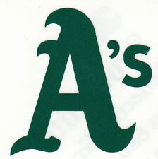 Oakland Athletics A's 2 inch reflective fire helmet decal sticker yeti window