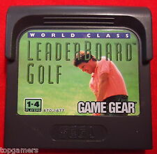 World Class Leaderboard Golf - SEGA Game Gear GG