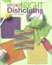 Kitchen Bright Dishcloths ~ Knitting Book  ~ Leisure Arts ~ Brand New Book