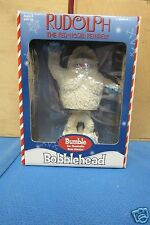 Rudolph The Red Nosed Reindeer Bumble the Abomible Sno Bobble Head Toy Site 2002