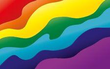 PREMIUM Aufkleber Regenbogen Rainbow Frieden Peace Auto Sticker Motorrad Styling