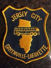 NJ Transit Jersey City Bus Patch Greenville - Lafayette Journal Square Route