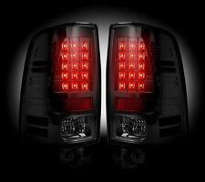 Recon Smoked LED Tail Lights 264236BK 2013-2016 Dodge Ram 1500 2500 3500 Trucks