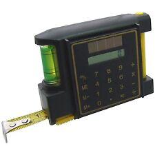 Ruban à mesurer avec calculateur niveau esprit crayon clip ceinture 3 mètres x 12.5 mm