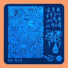 NEW Stamping Manicure Image Nail Art Image Stamp Template Tool Plate Polish T-16