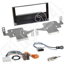 Nissan Juke (F15 Facelift) ab05/2014 Doppel 2-DIN Blende+Fach+ ISO Kabel Adapter