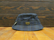 "10 DEEP ""PLAID"" BUCKET HAT (MEDIUM FIT) (BLUE/BLACK) ONE SIZE FITS MOST"
