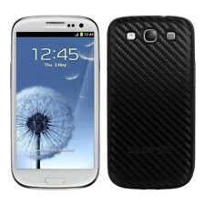 Kwmobile back cover Case para Samsung Galaxy s3 s3, funda protectora de Neo negro bateria movil